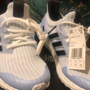 NWT Adidas UltraBOOST X GOT White Walkers Size 8